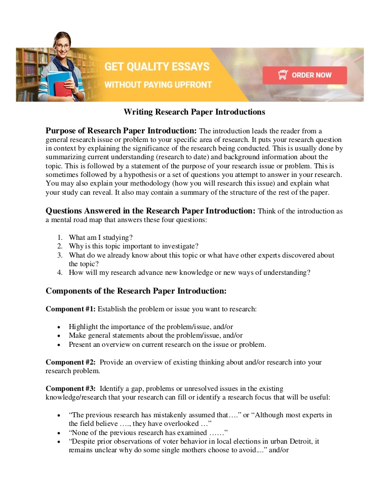 Elements of a persuasive essay introduction